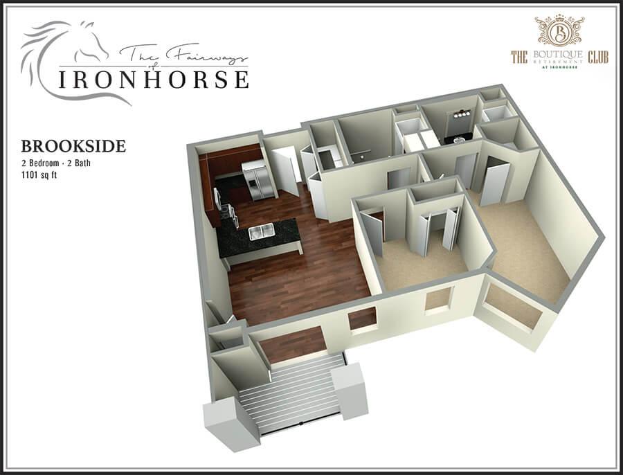 the brookside 3d floor plan