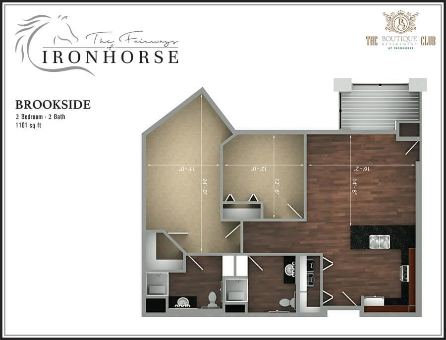 the brookside floor plan