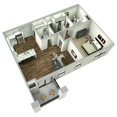 the leawood 3d floor plan 1