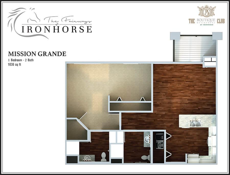 the mission grande floor plan