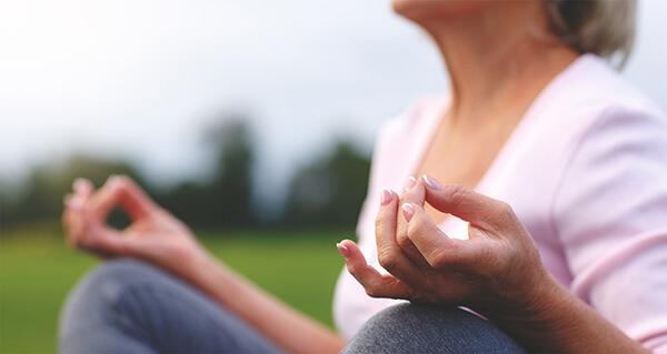 yoga meditation activities for senior citizens