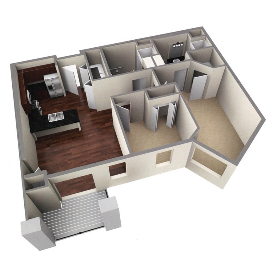 brookside floor plan 3d