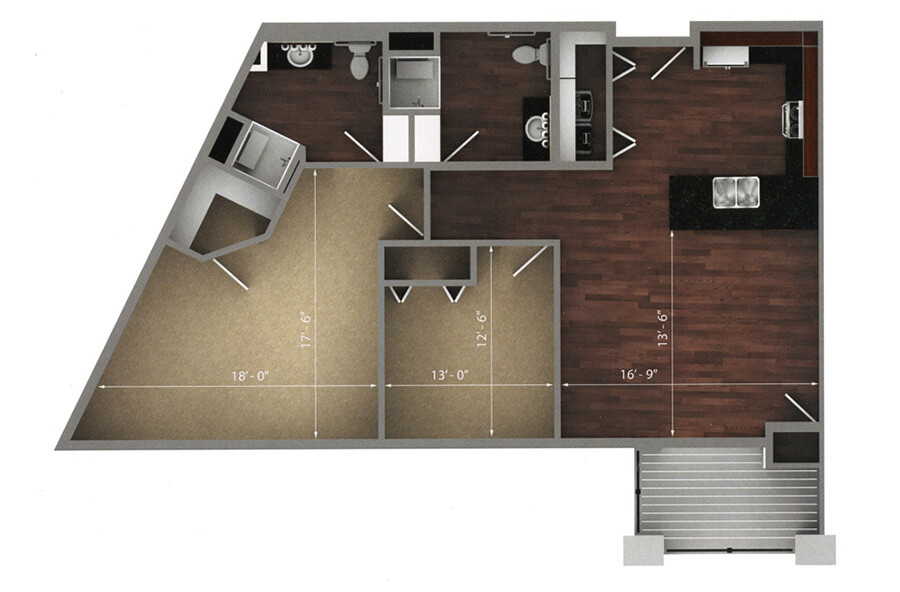 fairway floor plan 2d