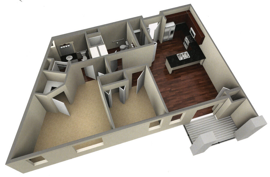 fairway floor plan 3d