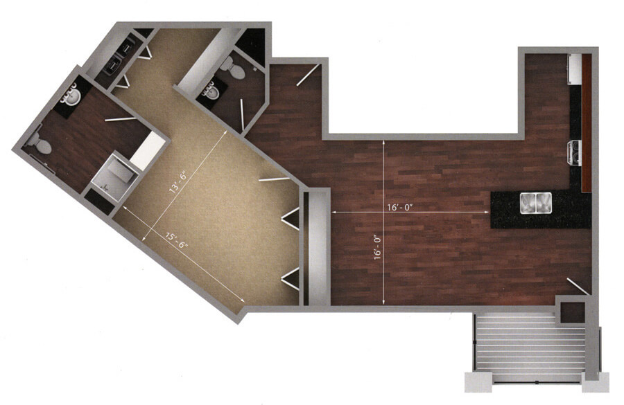 hallbrook floor plan 2d